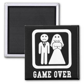 Game Over Fridge Magnet