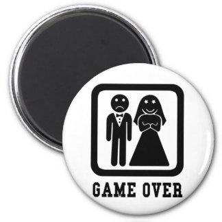 Game Over Refrigerator Magnet