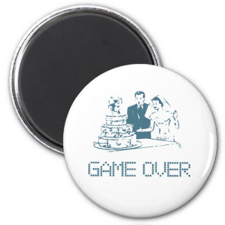 Game Over (Marriage) Magnet
