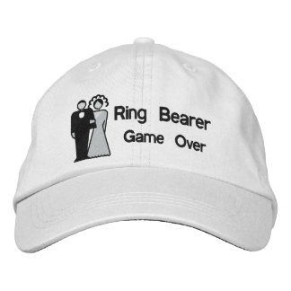 Game Over - Ring Bearer Embroidered Hat