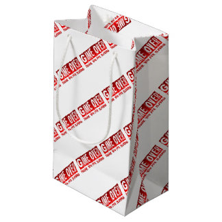 Game over small gift bag