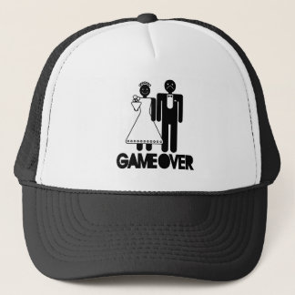 Game Over - Unhappy Groom Trucker Hat