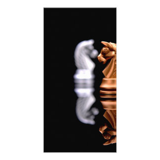 Game Play Chess Photo Greeting Card