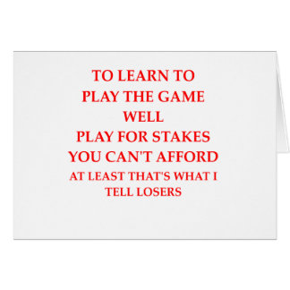 game player card