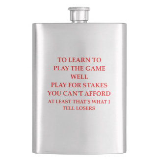 game player flasks