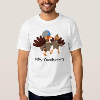 Game Time Thanksgiving Turkey Football Shirts