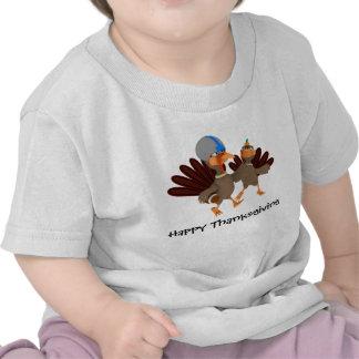 Game Time Thanksgiving Turkey Football T-Shirt