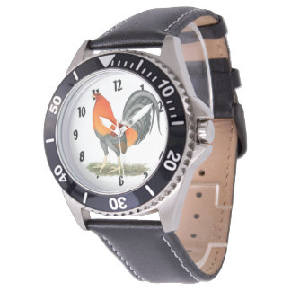 Gamecock Blue Red Rooster Watch
