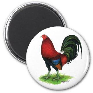Gamecock:  Dark Red 2 Inch Round Magnet