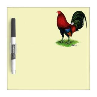 Gamecock:  Dark Red Dry Erase Whiteboard