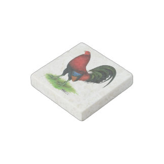 Gamecock:  Dark Red Stone Magnets