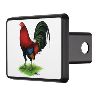 Gamecock:  Dark Red Trailer Hitch Cover