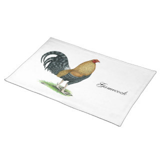 Gamecock:  Dom or Crele Placemat