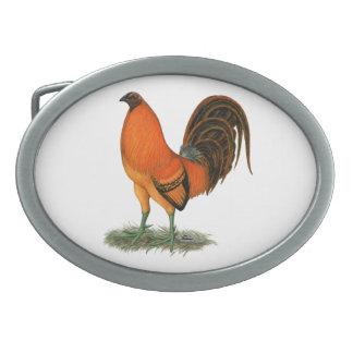 Gamecock Ginger Red Rooster Belt Buckles