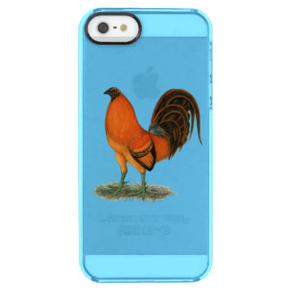 Gamecock Ginger Red Rooster Clear iPhone SE/5/5s Case