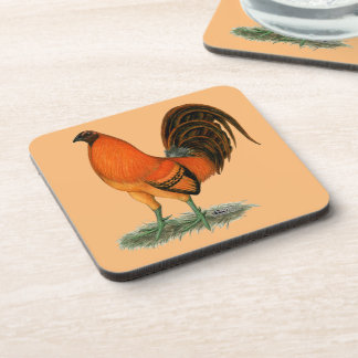 Gamecock Ginger Red Rooster Coaster