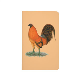Gamecock Ginger Red Rooster Journals