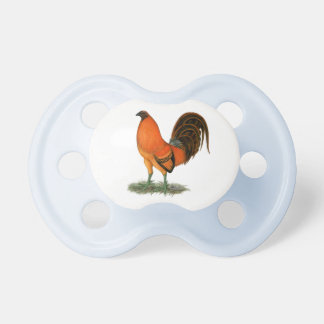 Gamecock Ginger Red Rooster Pacifier