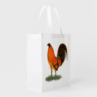 Gamecock Ginger Red Rooster Reusable Grocery Bag