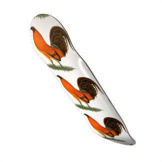 Gamecock Ginger Red Rooster Skate Decks