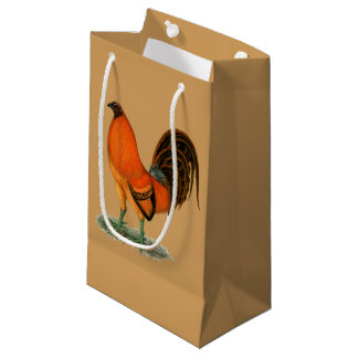 Gamecock Ginger Red Rooster Small Gift Bag