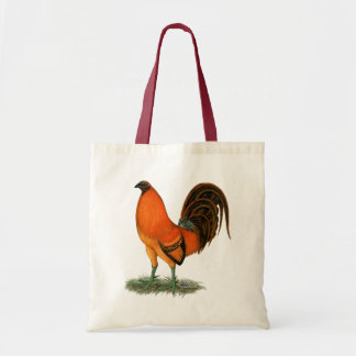 Gamecock Ginger Red Rooster Tote Bag