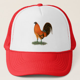 Gamecock Ginger Red Rooster Trucker Hat