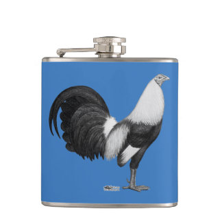 Gamecock Grey Duckwing Flask