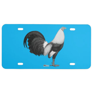 Gamecock Grey Duckwing License Plate
