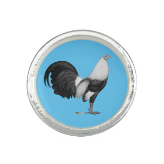 Gamecock Grey Duckwing Photo Rings
