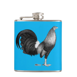 Gamecock Red Hatch Flasks