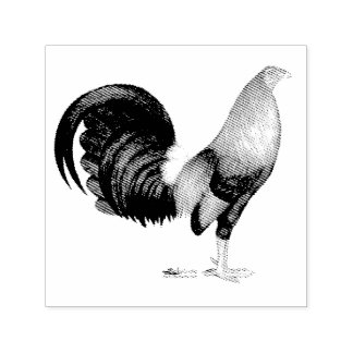 Gamecock Red Hatch Self-inking Stamp