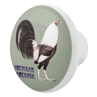 Gamecock Sepia Ceramic Knob