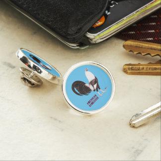 Gamecock Sepia Lapel Pin