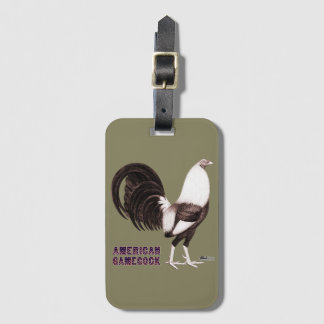 Gamecock Sepia Luggage Tag