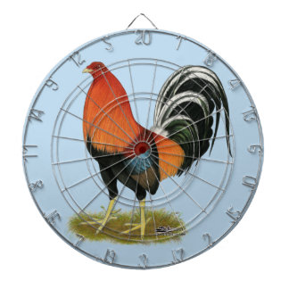 Gamecock Wheaten Rooster Dartboard