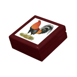 Gamecock Wheaten Rooster Gift Box