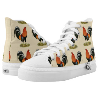 Gamecock Wheaten Rooster High Tops