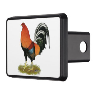 Gamecock Wheaten Rooster Trailer Hitch Cover