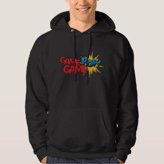 GameGamePOW Comic Book Logo Hoodie (Black)
