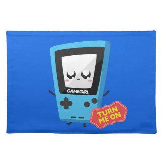 GameGirl blue Placemat