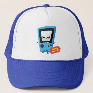 GameGirl blue Trucker Hat