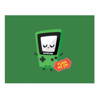 GameGirl green Postcard