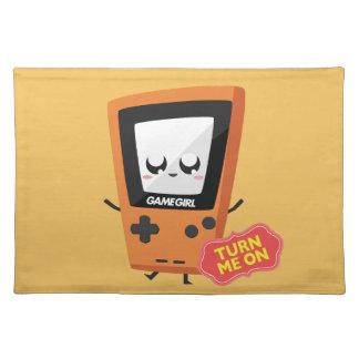 GameGirl Orange Placemat