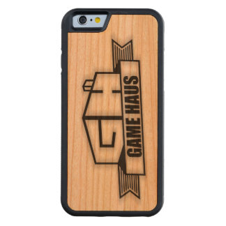 GameHAUS Phone - Wood Burn Carved Cherry iPhone 6 Bumper Case