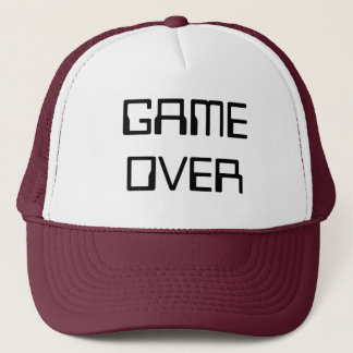 GAMEOVER TRUCKER HAT