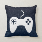 Gamepad Analogs Symbol Throw Pillow