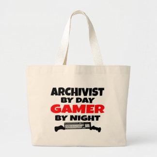 Gamer Archivist Large Tote Bag