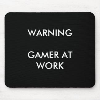 Gamer At Work Mousepad