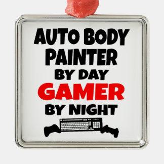Gamer Auto Body Painter Metal Ornament